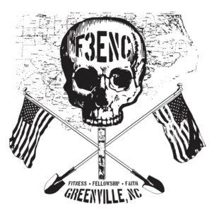 F3ENC logo - white